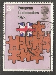Stamps United Kingdom -  Comunidad europea