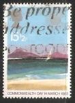 Sellos de Europa - Reino Unido -  Isla Tropical