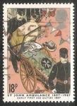 Sellos de Europa - Reino Unido -  Primera ambulancia 1884-1984