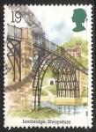 Sellos de Europa - Reino Unido -  Puente de hierro