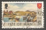 Sellos del Mundo : Europa : Isla_de_Man : Views- Port St Mary
