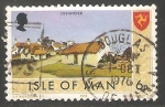 Stamps Isle of Man -  Cregneash