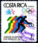 Stamps : America : Costa_Rica :  COSTA RICA_SCOTT 304.02 BALONCESTO, JUEGOS OLIMPICOS ANGELES 84. $,20