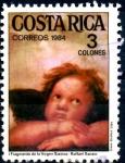Stamps : America : Costa_Rica :  COSTA RICA_SCOTT 316.03  DETALLE DE LA VIRGEN SISTINA DE RAFAEL. $0,20