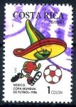Sellos de America - Costa Rica -  COSTA RICA_SCOTT 370.01 MEXICO 86, COPA MUNDIAL DE FUTBOL. $0,20