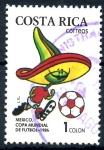 Stamps Costa Rica -  COSTA RICA_SCOTT 370.02 MEXICO 86, COPA MUNDIAL DE FUTBOL. $0,20