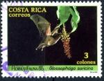 Sellos de America - Costa Rica -  COSTA RICA_SCOTT 378.01 GLOSSOPHAGA SORICINA. $0.20