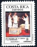 Sellos de America - Costa Rica -  COSTA RICA_SCOTT 386.01 DIA NACIONAL DE LA CIENCIA Y LA TECNOLOGIA. $0.25