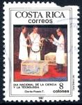 Stamps : America : Costa_Rica :  COSTA RICA_SCOTT 386.02 DIA NACIONAL DE LA CIENCIA Y LA TECNOLOGIA. $0.25