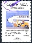 Sellos de America - Costa Rica -  COSTA RICA_SCOTT C913.01 40º AEROLINEA LACSA. $0.30