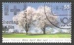 Sellos de Europa - Alemania -  Arboles floridos