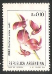 Stamps Argentina -  Ceibo
