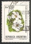 Stamps Argentina -  Flor Malvinense