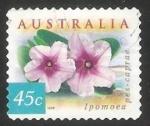 Stamps Australia -  Wahlenbergia Stricta