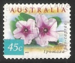 Stamps Australia -  Wahlenbergia Stricta