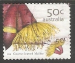 Stamps Australia -  Coarse-Leaved-Mallee-
