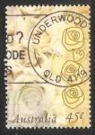 Sellos de Oceania - Australia -  Rosas