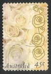 Stamps Australia -  Rosas