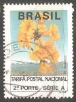 Sellos de America - Brasil -  Ipe Amarillo