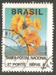 Stamps Brazil -  Ipe Amarillo
