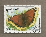 Stamps : Asia : Afghanistan :  Mariposa Nymphalis antiopa