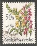Stamps Czechoslovakia -  Flores