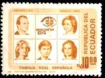 Sellos de America - Ecuador -  ECUADOR_SCOTT 1080 ESPAÑA-84 FAMILIA REAL ESPAÑOLA. $0,20