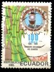 Sellos de America - Ecuador -  ECUADOR_SCOTT 1082A 100 AÑOS TRADICION AZUCARERA ECUADOR. $0,65