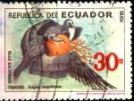 Stamps Ecuador -  ECUADOR_SCOTT 1117 FRAGATA, ISLAS GALAPAGOS. $0,70