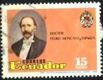 Stamps Ecuador -  ECUADOR_SCOTT 1159 DOCTOR PEDRO MONCAYO Y ESPARZA. $0,20