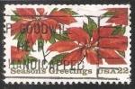 Stamps United States -  flor de Pascua