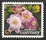 Stamps United Kingdom -  Clematis Josephine