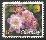 Sellos de Europa - Reino Unido -  Clematis Josephine