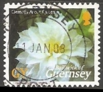 Stamps United Kingdom -  Clematis Arctic Queen