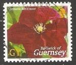 Sellos de Europa - Reino Unido -  Clematis Rosemoor