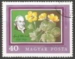 Sellos de Europa - Hungría -   fresa estéril de flor geum-como