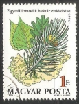 Stamps Hungary -  Forests in Hungary