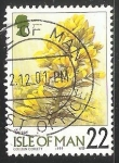 Sellos de Europa - Isla de Man -  Flores