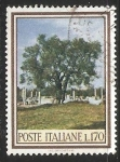 Sellos de Europa - Italia -  Olivo