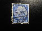 Sellos de Europa - Alemania -  85 aniversario del nacimiento del presidente Paul von Hindenburg .