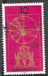 Sellos del Mundo : Europa : Alemania :  548 - 400 anivº del nacimiento de Johannes Kepler, astrónomo y físico