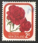 Stamps : Oceania : New_Zealand :  Rose