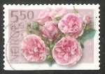 Sellos del Mundo : Europa : Noruega :  Pink rose