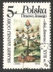 Stamps Poland -  árbol de Jesé
