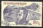 Stamps Czechoslovakia -  1333 - Exploración del Universo, Glenn