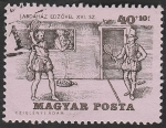 Sellos de Europa - Hungría -  1735 - Historia del tenis