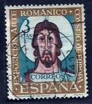 Sellos del Mundo : Europa : España : Exposicion arte romanico