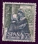 Stamps Spain -  Misterios del rosario