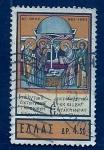 sello : Europa : Grecia : navidad  1963