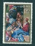 Stamps Spain -    Navidad   1969